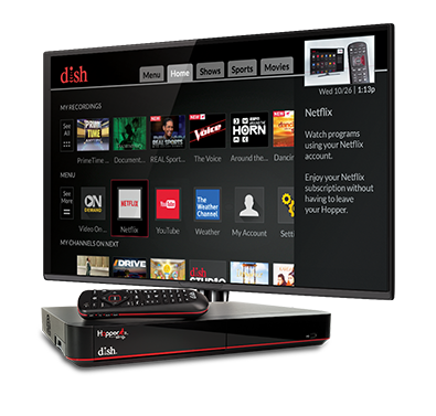 The Hopper - Voice remotes and DVR - Gainesville, MO - Ozark Computers - DISH Authorized Retailer